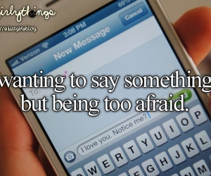 afraid and quote image
