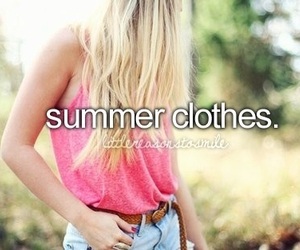 summer, clothes, and pink image