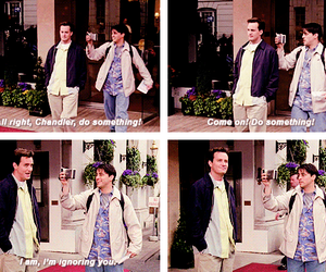 chandler bing, joey tribbiani, and quotes image