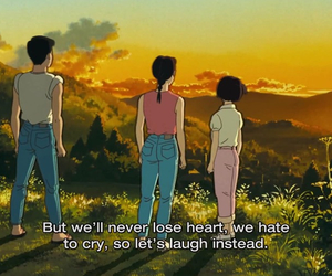 anime, japanese, and only yesterday image