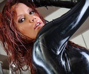 Hot, latex, and sexy image