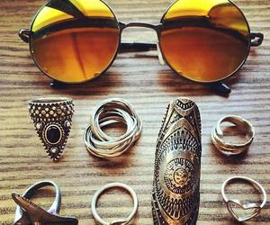 glasses and ring image
