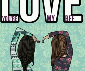 bff, love, and friends image