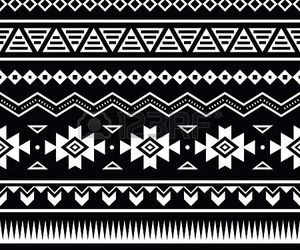 aztec, pattern, and tribal image