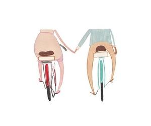 beach cruiser, bike love, and bitch image