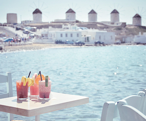 drink and mykonos image