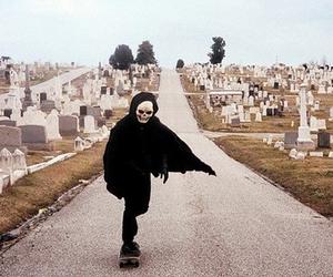 skate, grunge, and skull image