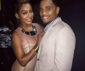 michael ealy and lala anthony image