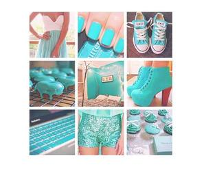fashion, food, and blue image