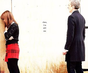 clara, doctor who, and peter capaldi image