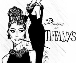 audrey hepburn, hayden williams, and Breakfast at Tiffany's image