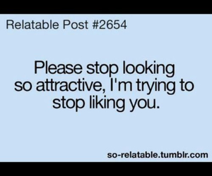 crush, attractive, and stop image