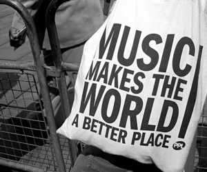 music, world, and black and white image