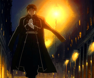 fire, lonely, and roy mustang image
