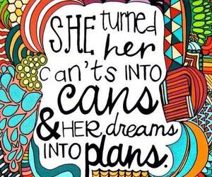 Dream, quotes, and plan image
