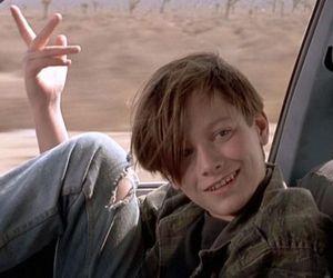 Edward Furlong, boy, and terminator image
