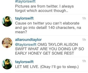 taylor alison swift, instagram, and swiftie image