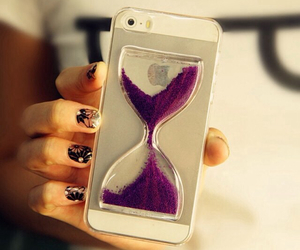 iphone, purple, and case image