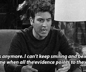 himym, how i met your mother, and sad image