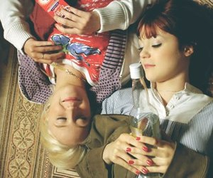 emily fitch, Kathryn Prescott, and Lily Loveless image