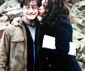 harry potter, bellatrix lestrange, and daniel radcliffe image