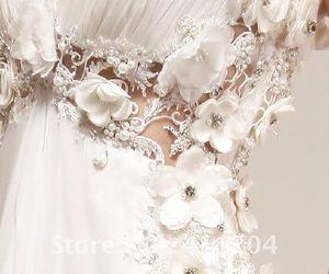 crystals, diamond, and dress image