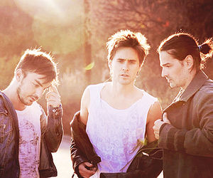 30stm, jared leto, and 30 seconds to mars image