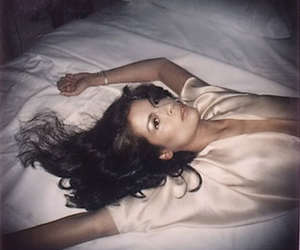 beautiful, bed, and bianca jagger image