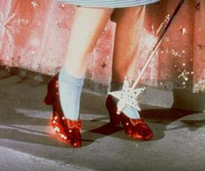 dorothy, red, and shoes image