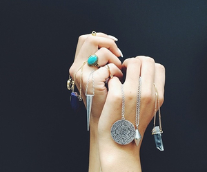 cool, necklaces, and jewerly image