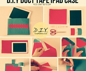 diy, ipad, and case image