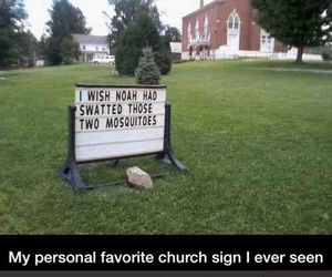 bugs, church, and funny image