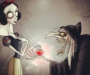 snow white, tim burton, and disney image