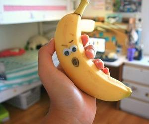 banana, tumblr, and cute image