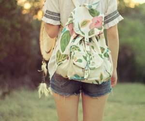 girl, bag, and pretty image
