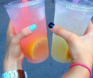 friend, fun, and lemonade image