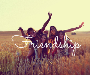frienship, friends, and love image