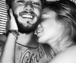 amor, beijo, and barba image