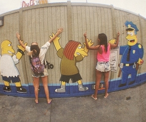 cool, girls, and simpsons image