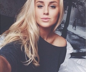 blonde, girl, and beautiful image
