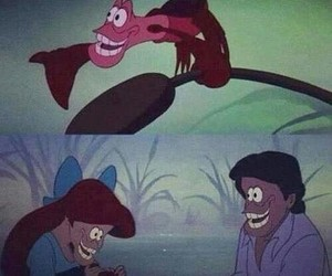 funny, ariel, and disney image