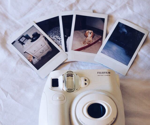 photo, camera, and polaroid image
