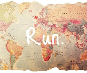 country, map, and run image