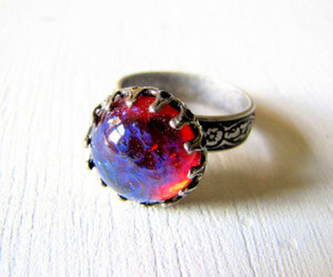 beauty and ring image
