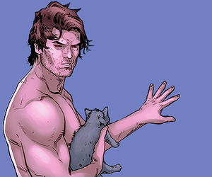 comics, x-men, and gambit image