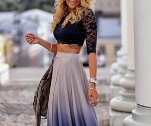 blonde, swedish, and fashion image