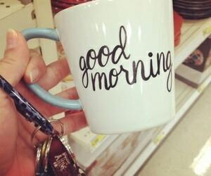 cup and good morning image
