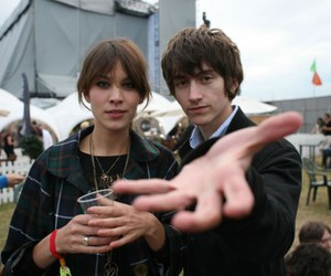 alex turner, boy and girl, and alexa chung image