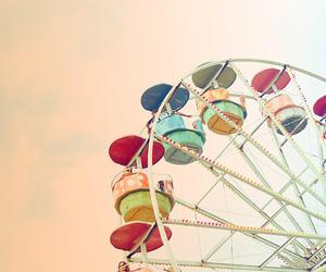 ferris wheel, photography, and fun image