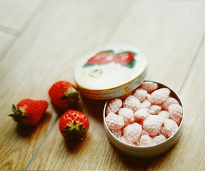 strawberry, candy, and photography image